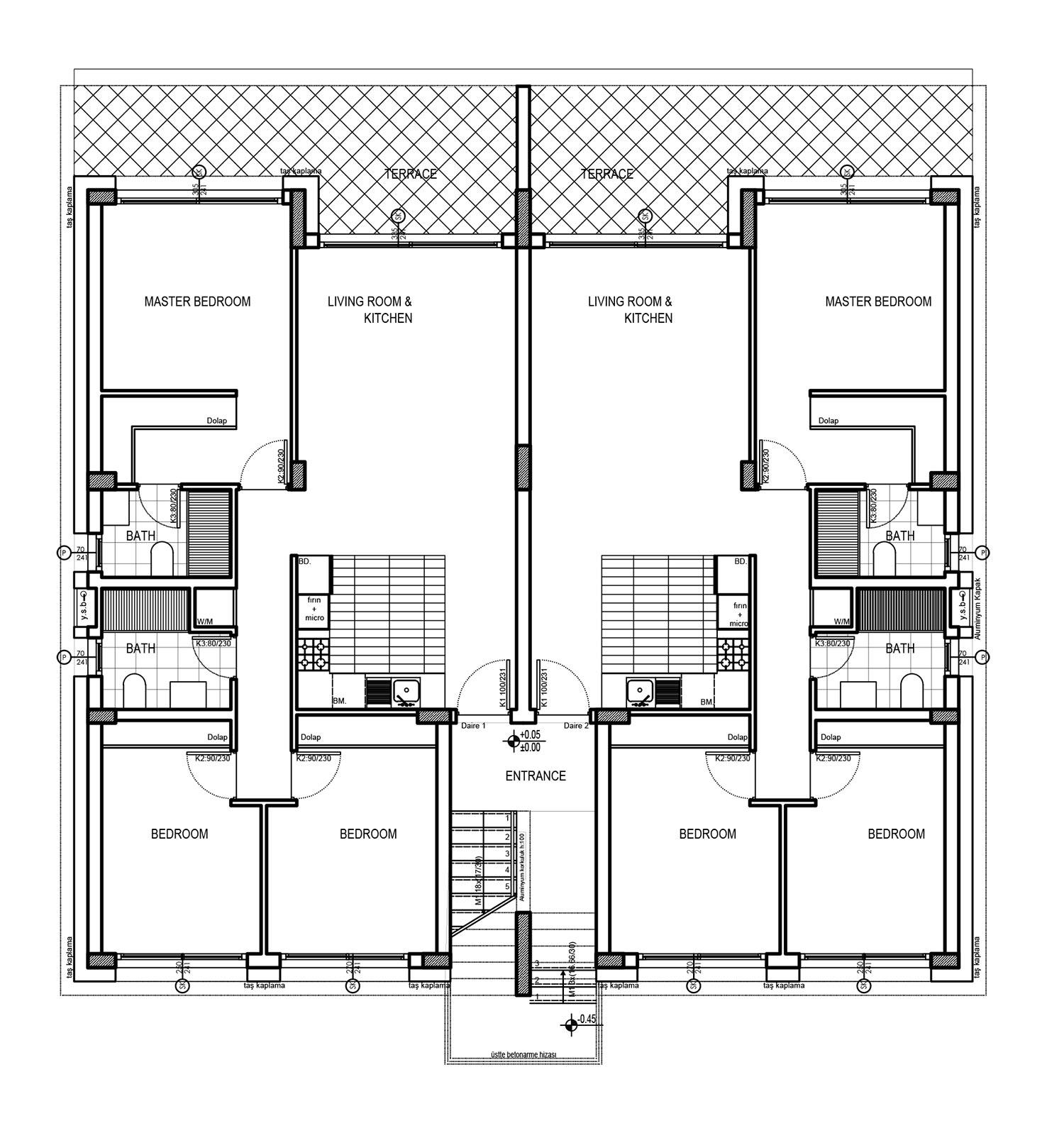 Block 10 - lgh nr: 3 & 4 - takvåning med 3 sovrum